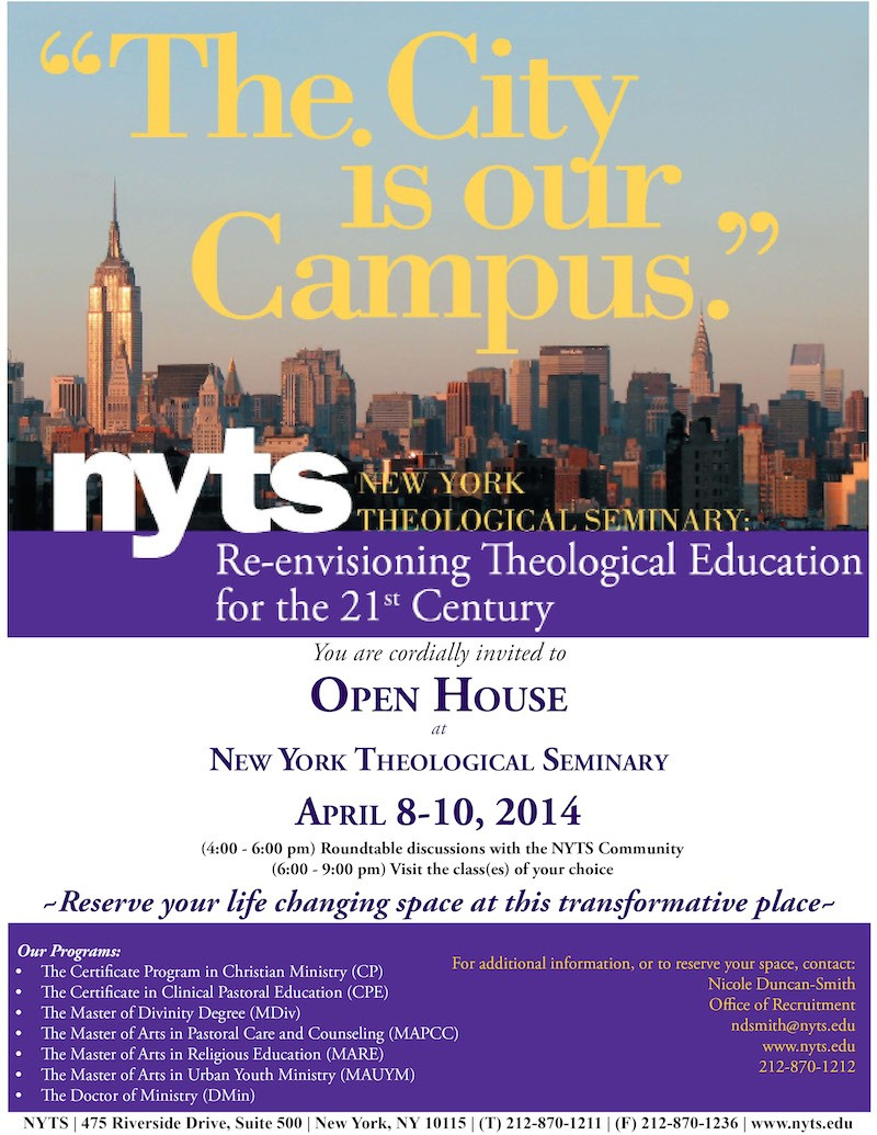 Open House 2014 Spring