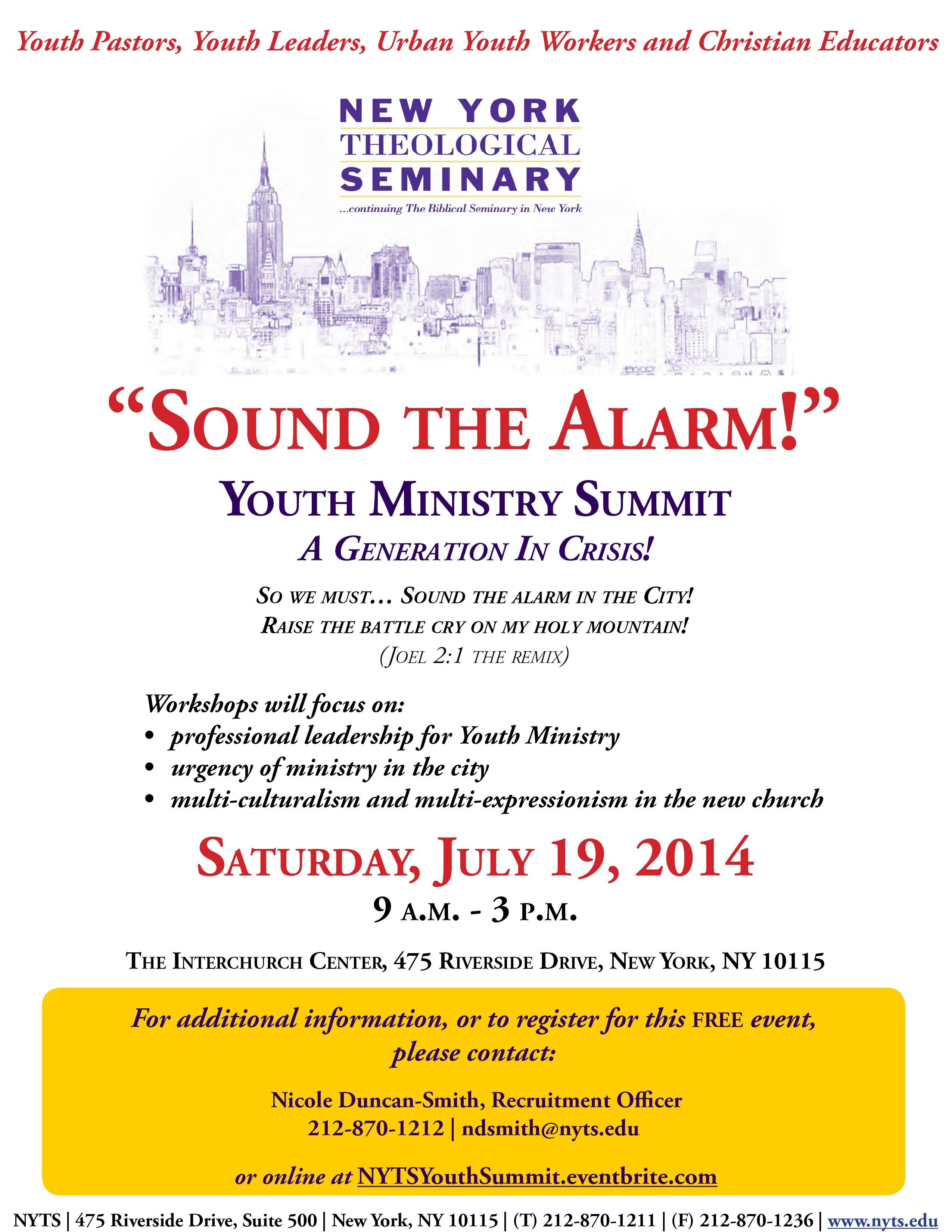 Sound The Alarm Summit Flyer 9