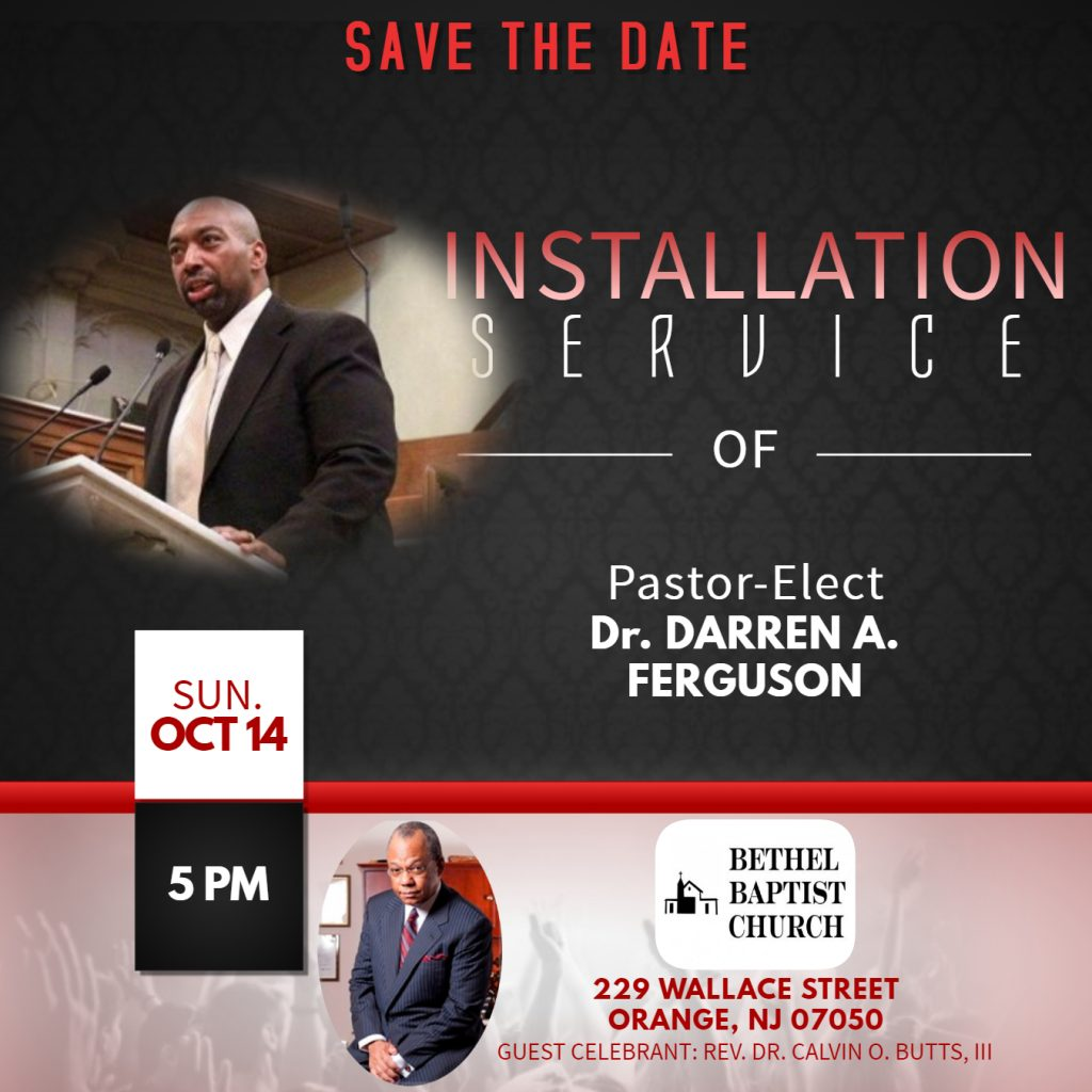 Installation Service Save The Date