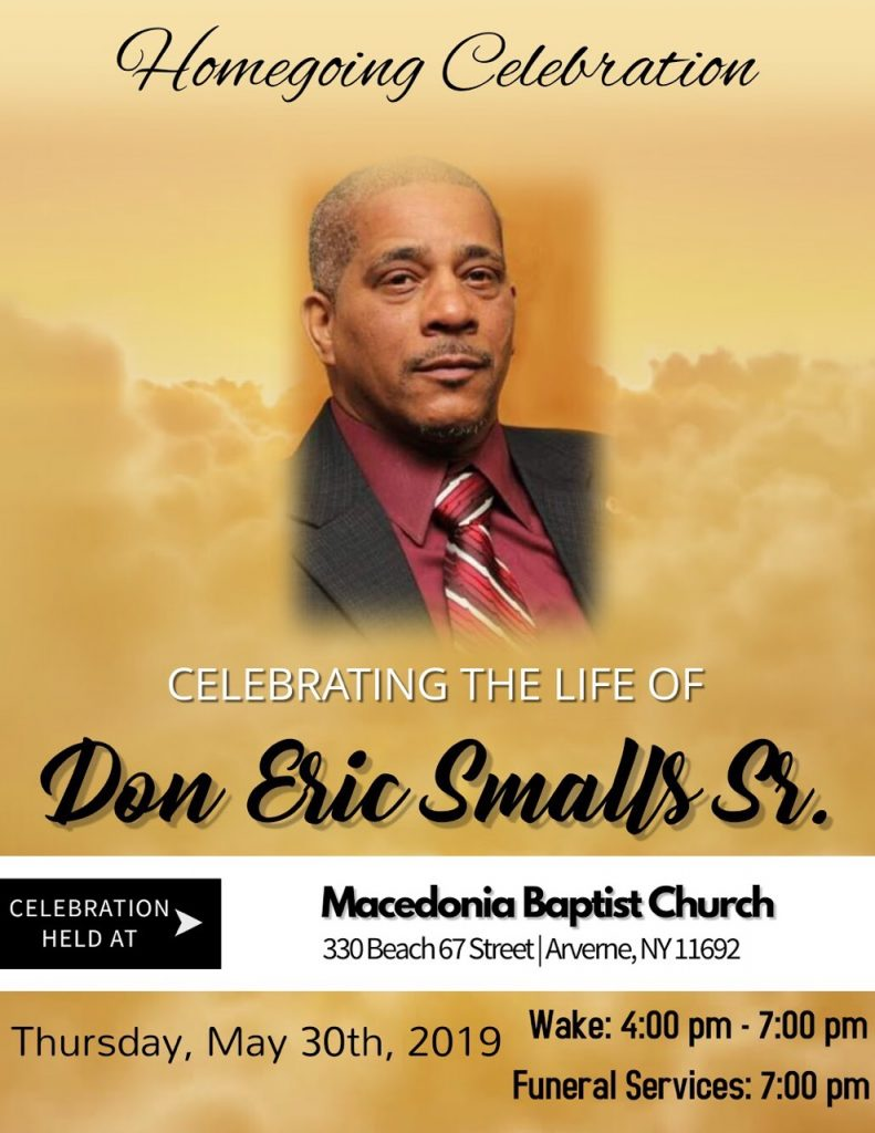 Don Small Homegoing Celebration