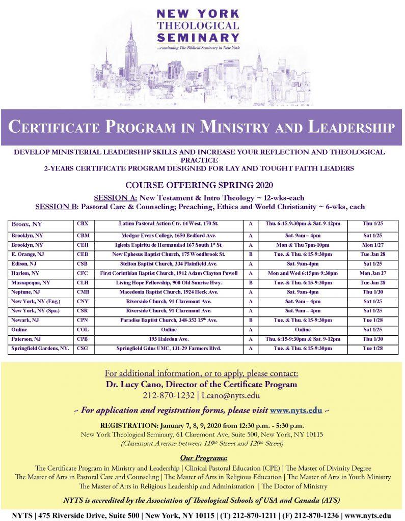 CP Spring 2020 Course-Registration Schedule(1)