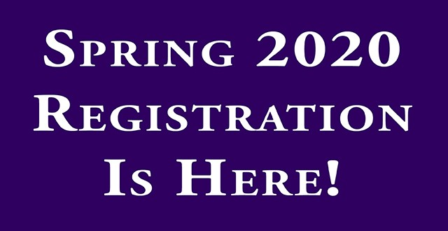 Spring 2020 Registration Banner (Correct dimensions, resize in photoshop) - EDIT