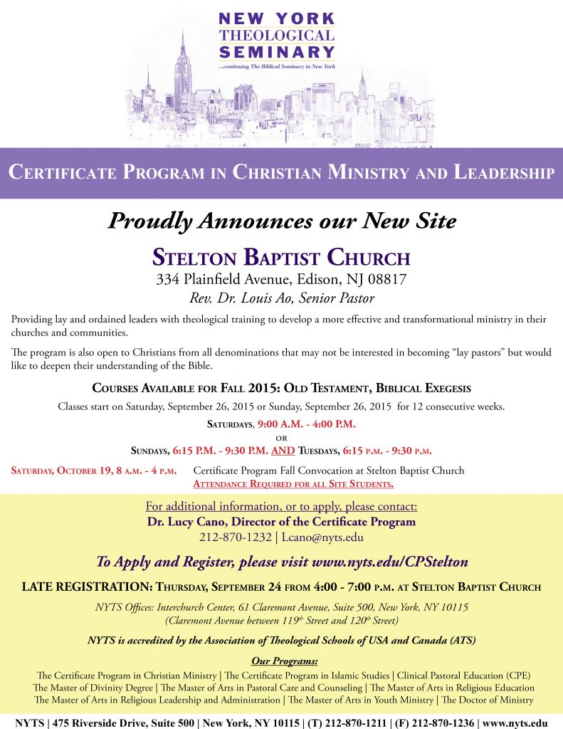 CP New Site Edison NJ 8-18-15