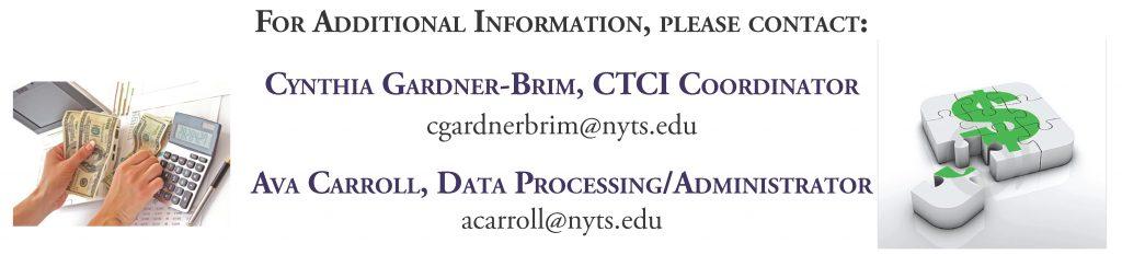 CTCI 2015 Contact Info